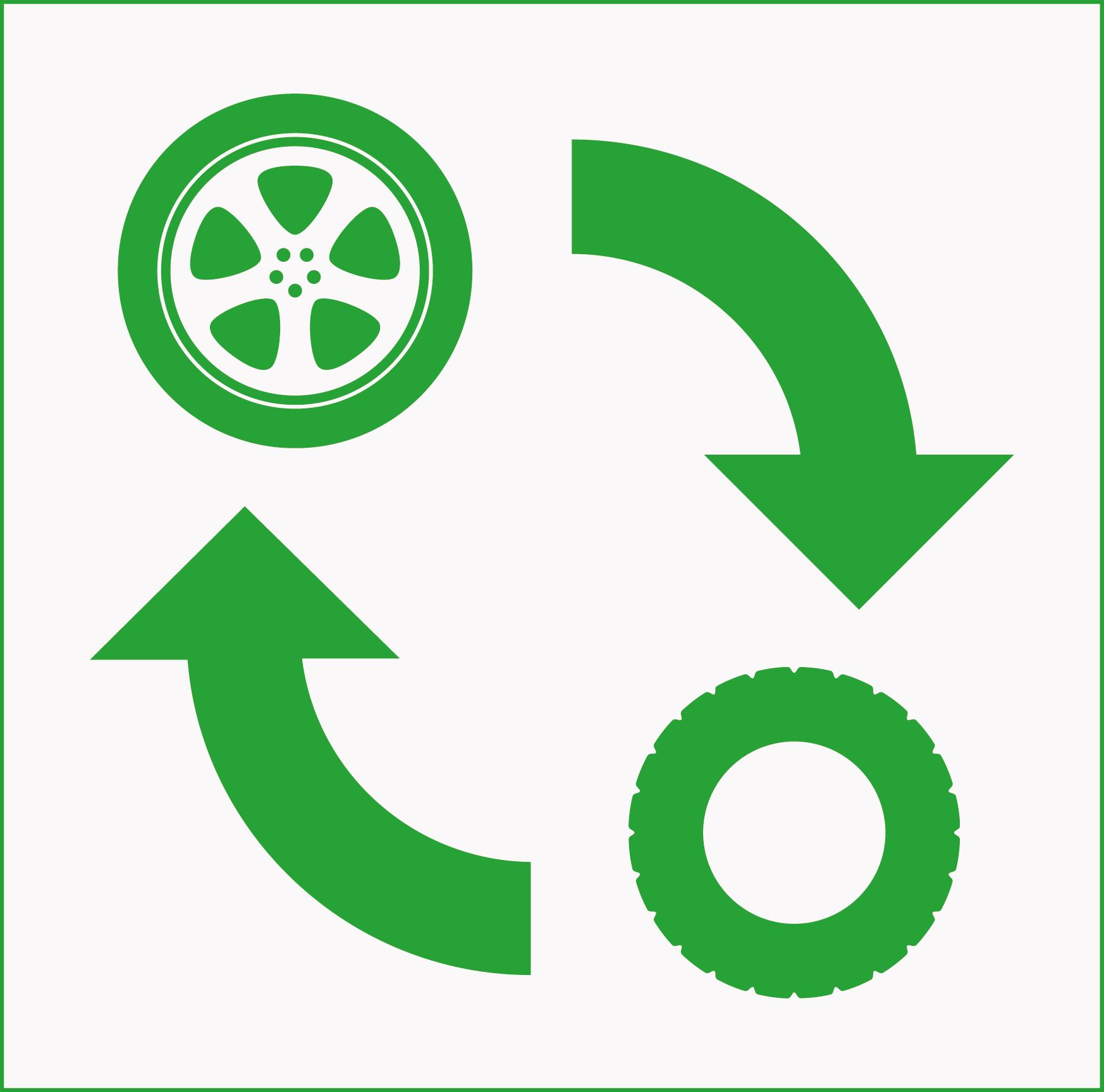 Reifenmontage Icon
